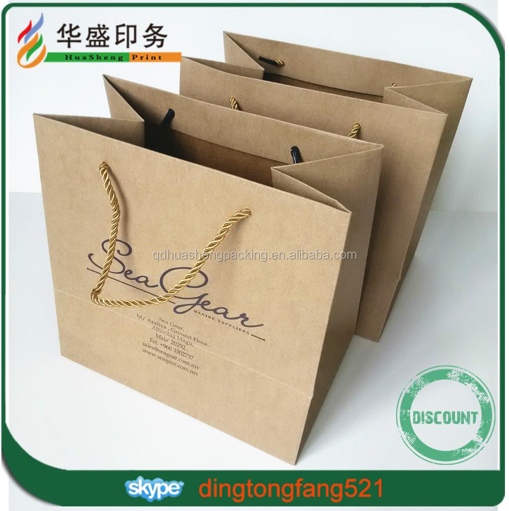 Custom paper bags wholesale china