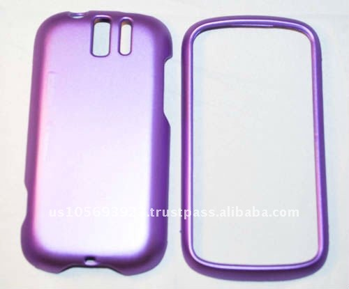 purple Rubber cellphone case for Google My Touch 3G Slider