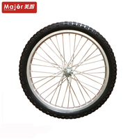 2.125 pu foam flat free bicycle wheel tire