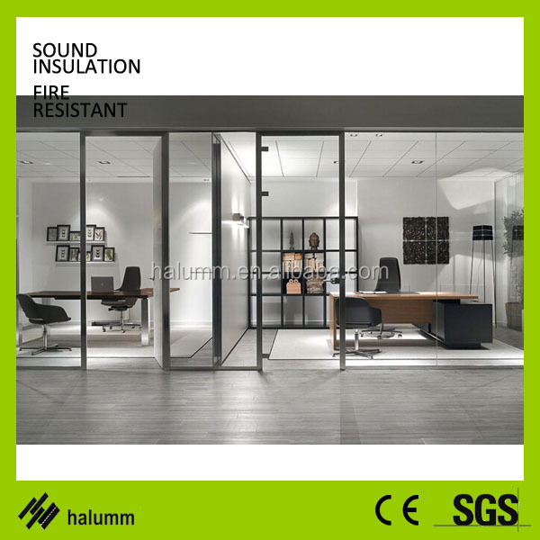 Good Floor To Ceiling Office Partition Glass Sound Proof Wall ...