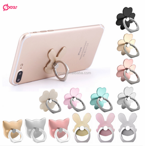 Custom Design Mobile Cell Phone Accessories Universal Easy Grip 360 Degree Rotation Ring Phone Holder