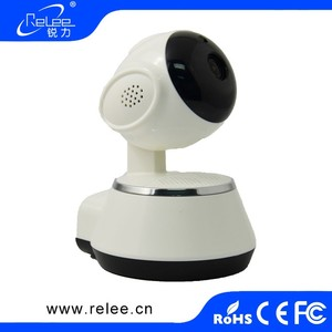 Wireless IP Cam Motion Detector 720P ip camera module Alarm System Video Record network webcams home video monitor