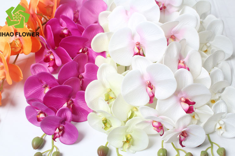 Stocking Decorative Artificial Flowers Silk Orchid Flowers Cheap ...