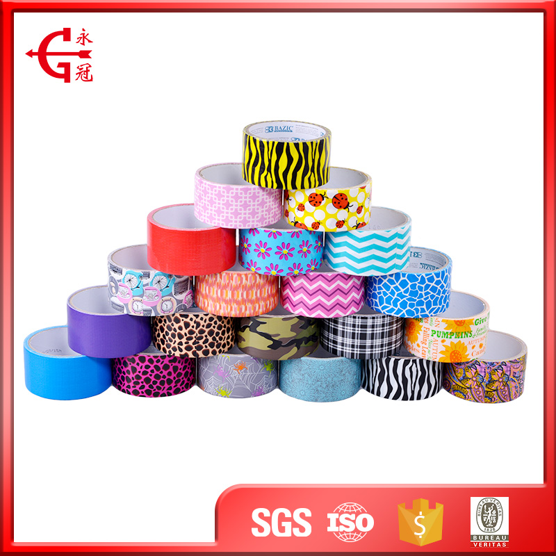 High quality print waterproof insulation duct popular cloth tape
