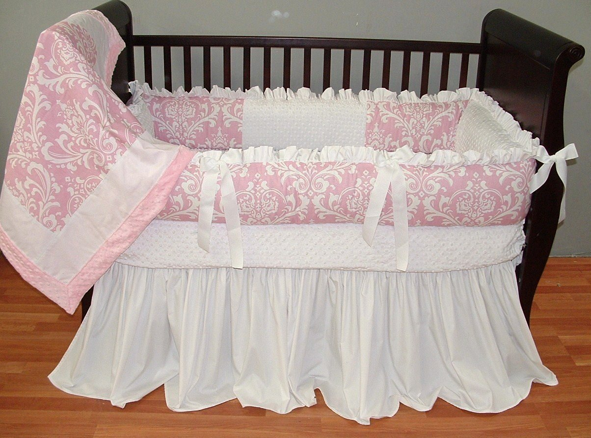 Modpeapod Daisy Damask Breathable Baby Bedding Set