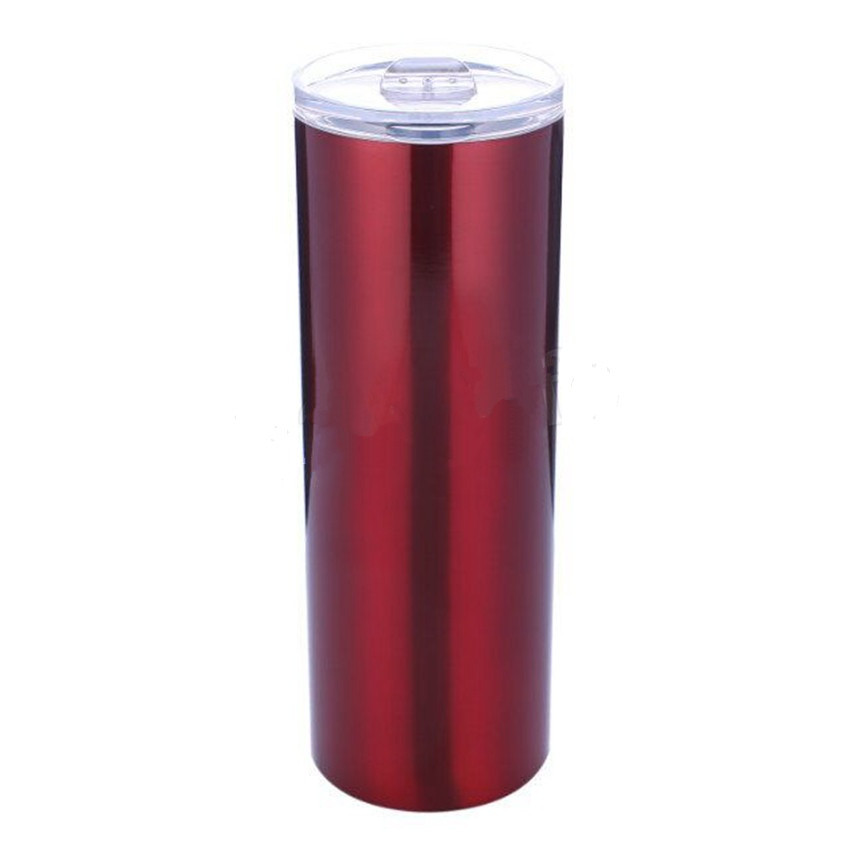 Acceptable Customized Water Mug Double Wall Vacuum Cup Stainless Steel Skinny Tumbler