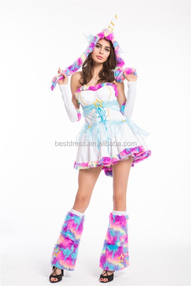 Walson mesdames sexy animal Imaginaire Licorne costume