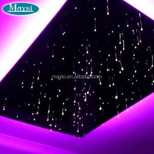Custom Made Various Lighting Effect Fiber Optic Star Ceiling Panel