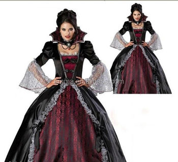 masque female vampire cosplay dresses halloween uniforms gothic witch costume bw1183