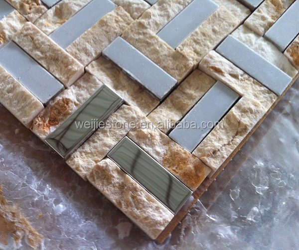 Color Marble Mosaic Designs : Hotel lobby wall stone mosaic design buy