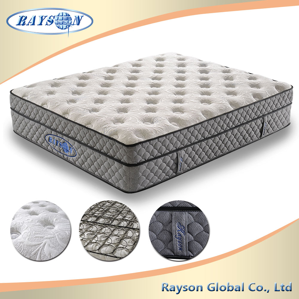 2016 New Style Most Popular Box Spring Mattress Latex Memory
