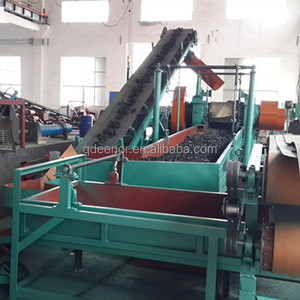 Fully automatic crumb rubber machinery / Tire Recycling Equipment Prices