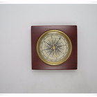 Collectible Brass Pocket Transit Compass With Wooden Box