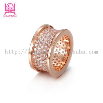 324e514d5a05 1 unid anillo para las Mujeres 18 K chapado en oro Real de compromiso  anillos de
