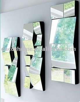 Wall Mirror Set Of 3 facet wall mirrors set of 3 - buy wall mirror,home decor