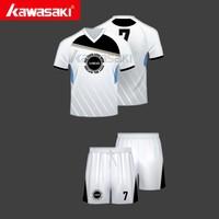 top brand kawasaki soccer shirt wholesale fashionable training soccer shirt