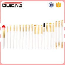 2017 Free Samples Private Label Cosmetics Makeup Brush Set 20 Pieces For Beauty