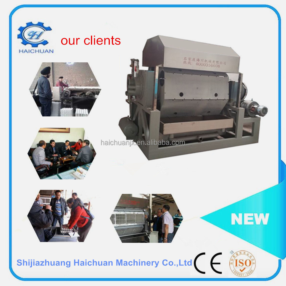 Paper production machinery for making egg tray manufacture