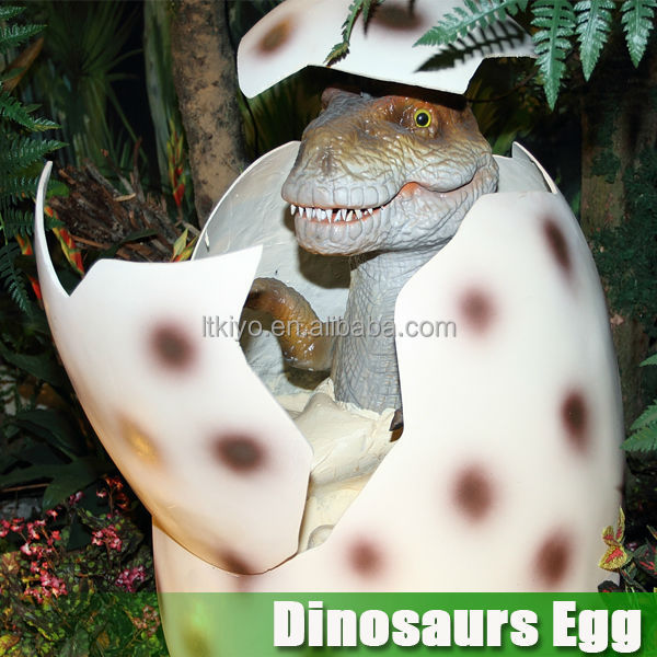 High quality theme park amusement dinosaur egg for show
