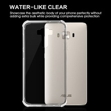 Nature TPU Soft Cover for Asus Zenfone 3 Deluxe zs570kl, Shell for Asus Zenfone 3 Deluxe Clear Back Case