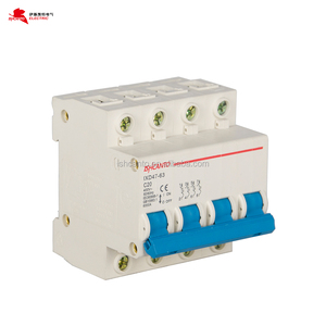 impact mini circuit breaker mcb 4P 380V switchgear