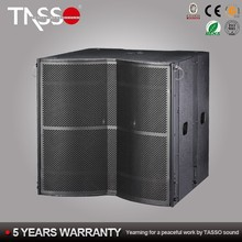 China professional audio powered dj bass pa speakers manufacturer
