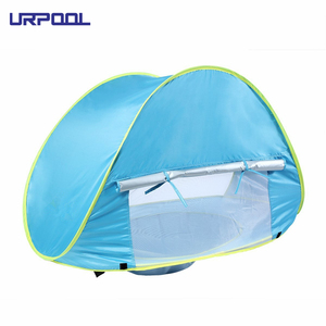 Kids Pop Up Tent Indoor Play Tent Portable Shade Pool UV Protection Sun Shelter for Baby and Family Camping