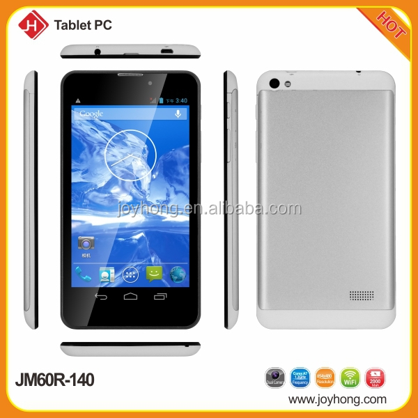 6 inch Dual Core built in 3G Tablet phone JM60R-140