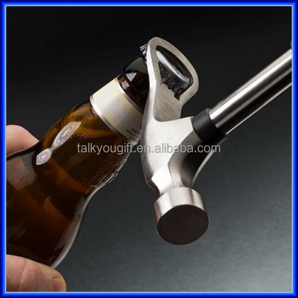 Beer hammer bottle opener metal hammer beer cap opener funny bottle opener buy metal hammer - Funny wine openers ...
