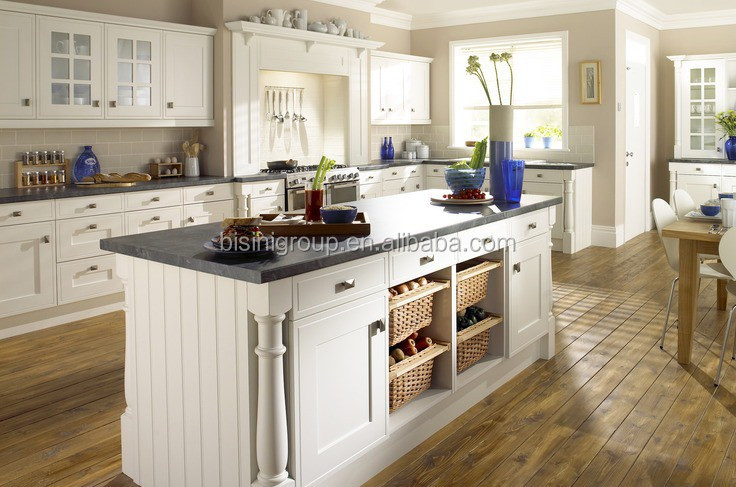 Luxury european design royal white solid wood kitchen with - Cuisine ceruse blanc ...