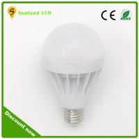 Amusement park E27 9W lamp light led bulb with CE ROHS passed