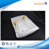 Hanger PVC bed sheet packaging bag with buttons