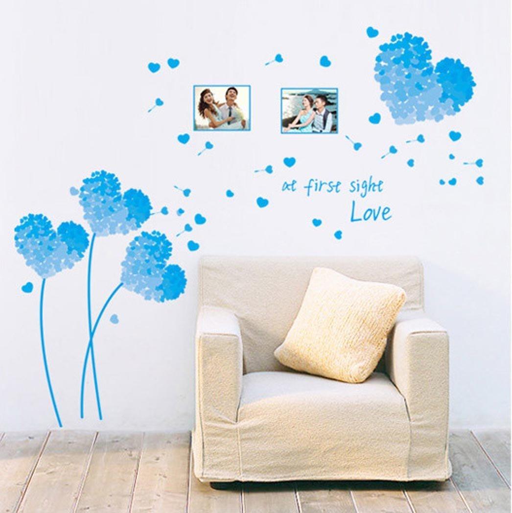 Amazon Com Bibitime Black Wall Stickers Living Room Bedroom Background Decorative Vinyl Art Mural 16 93 X 31 49 Home Kitchen