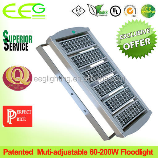 super bright floodlit LED floodlight replacement metal halide 1000w/energy saving flood light/led floodlight 200w 500w 150w 100w