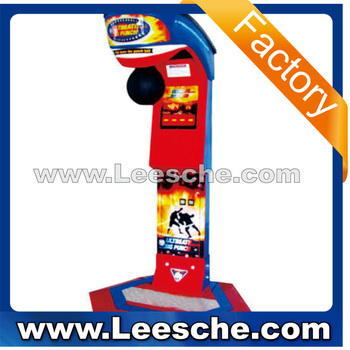 Lsjq-334 Ultimate Big Punch Boxing /hot Sale Boxing Punch Arcade ...
