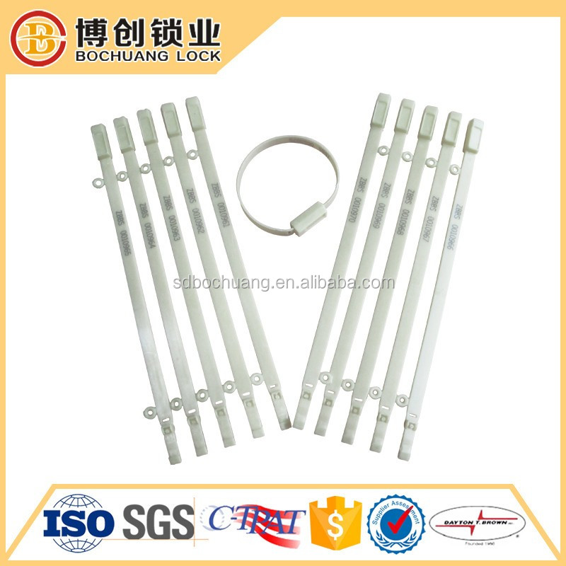 bar coded plastic seal security seal Ring seal