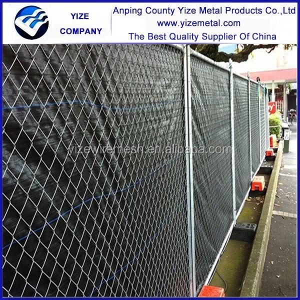 Power coated galvanized pool fencing modular used