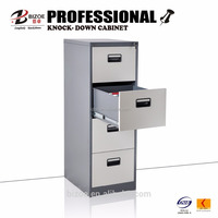 plastic handles 4 drawer vertical filing cabinet