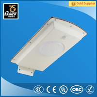 New IP65 High Lumen Outdoor all in one integrated solar light street
