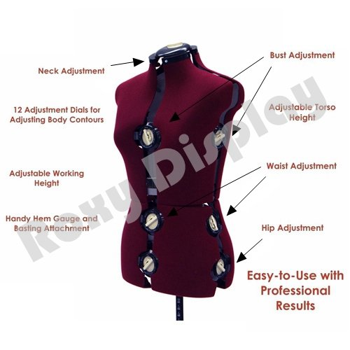 Charmant Get Quotations · (JF FH 8) ROXYDISPLAY™ 12 Dial Fabric Backed Large