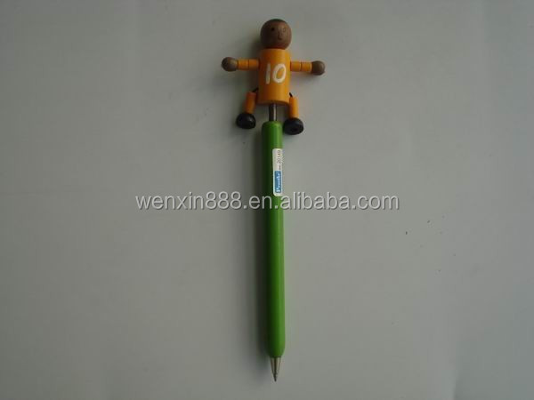 custom promotional student fancy wood pen