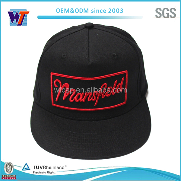 Custom wholesale embroidery old school snapback hats for big heads