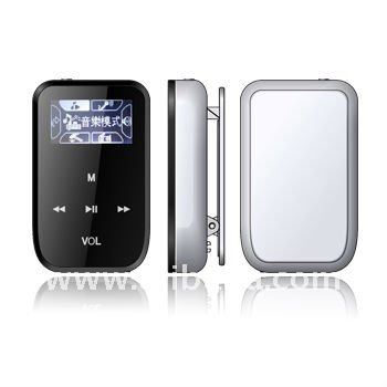 OlED FM clip MP3 player