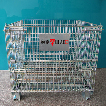 OEM Industrial Steel Wire Container