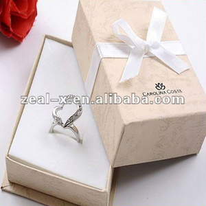 2012 necklace and ring packaging paper box