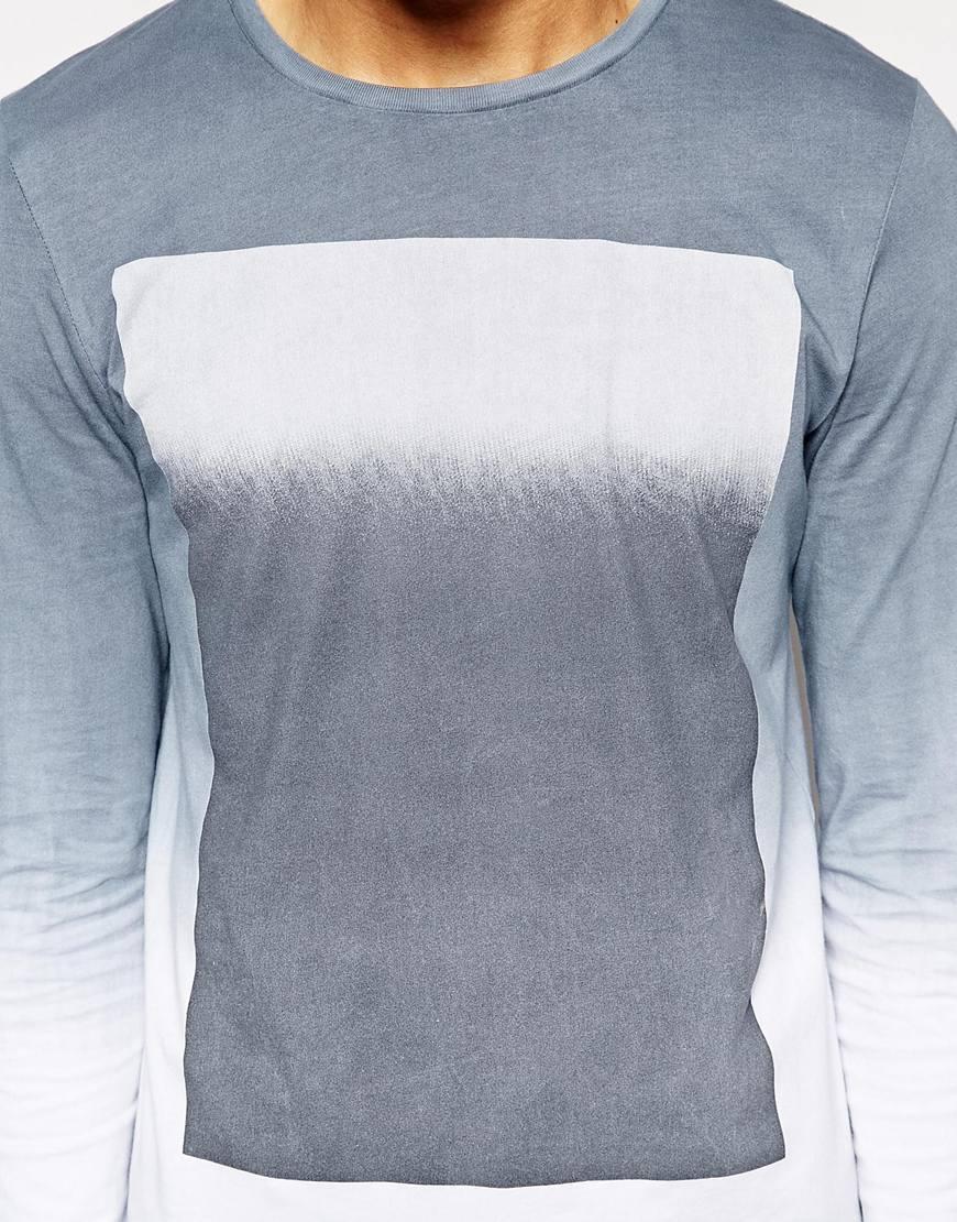 Shirt new design 2015 - New Design Fashion European Style T Shirt For Men Long Hem T Shirt Washable