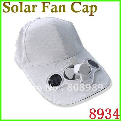 Classic Cap With Solar Fan Solar Power Hat Cap Cooling