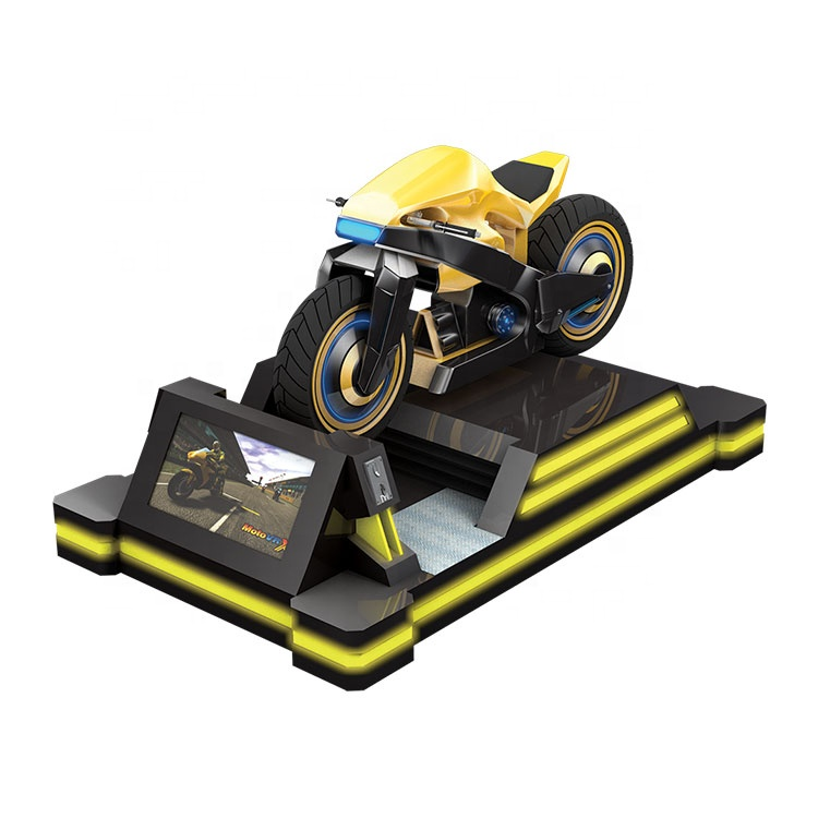 Indoor racing game machine vr motorbike simulator motorcycle