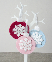 alibaba china supplier best selling high quality christmas decoration new products custom felt snowflake christmas item