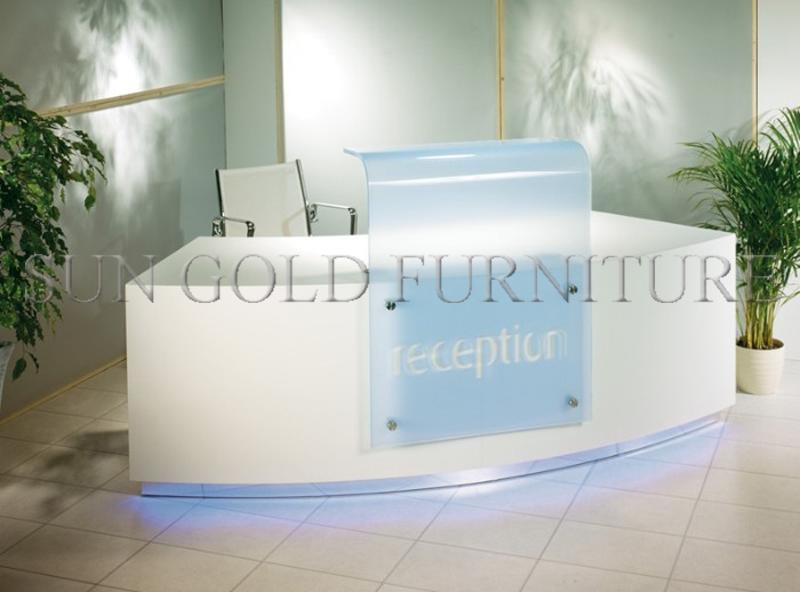 2016 Hot Sale New Design Used Tanning Salon Reception Desk(Sz